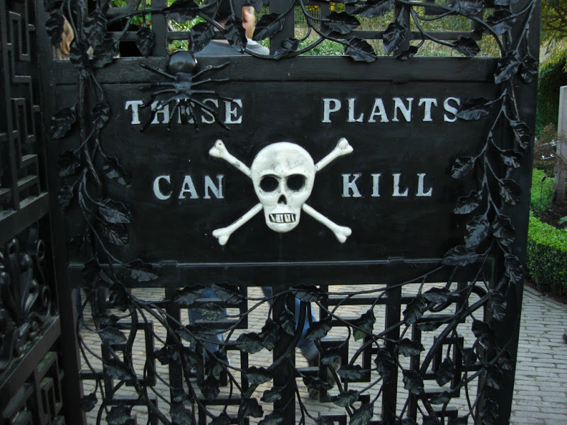 Ядовитый сад Альнвика, Англия