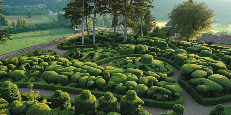 Висячие сады Маркейссака, Франция