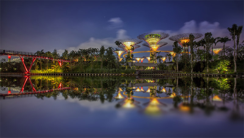 Сады в заливе, Сингапур