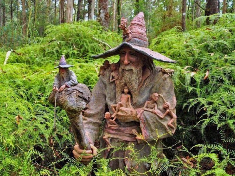 Скульптурный сад Бруно Торфса, Австралия