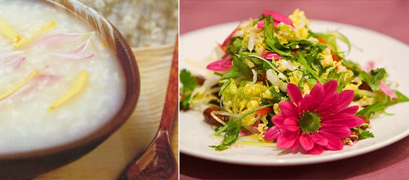 Блюда из хризантем