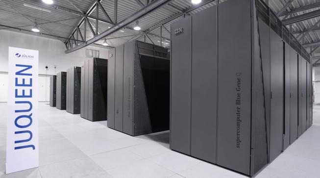 суперкомпьютер JuQueen