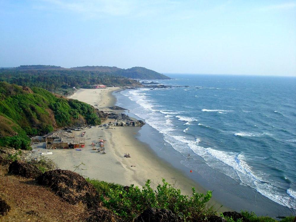 Лучшие пляжи Северного Гоа (Индия)